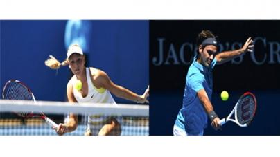 Azarenka, Federer and Murray through to second round