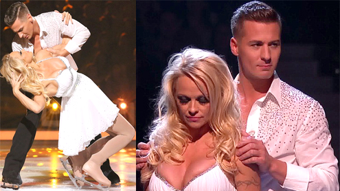 Baywatch Star Pamela Anderson Voted Off Dancing On Ice For Wardrobe Malfunction