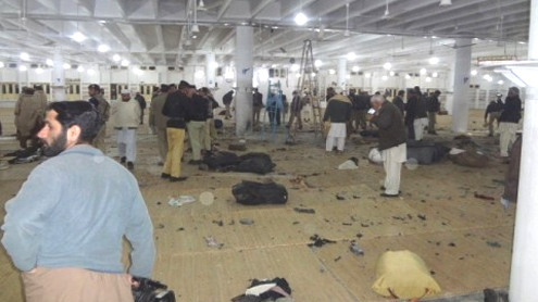 Bomb at Swat congregation leaves 22 dead
