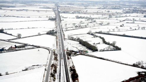 Britain's Big Freeze Will Last At Least Four More Days