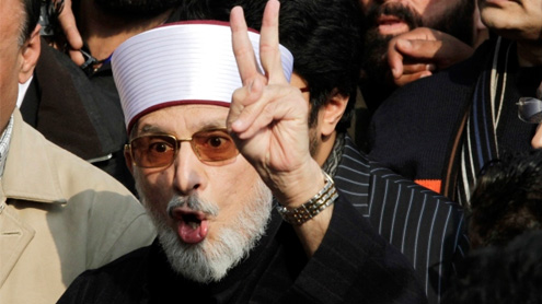 Declaration signed: Qadri ends long march