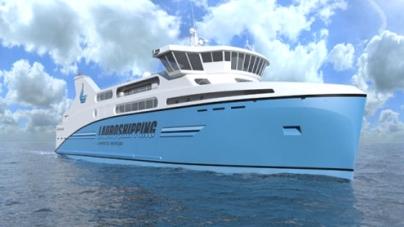 First gas-powered passenger ferry