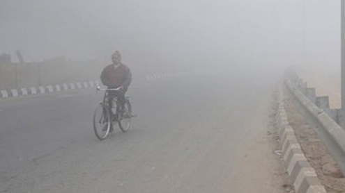 Fog breaks past records