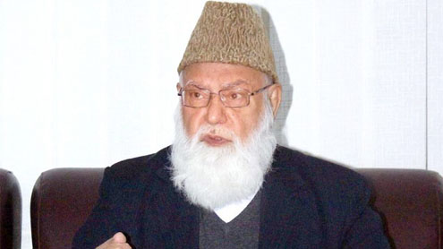 Qazi Hussain Ahmed passes away