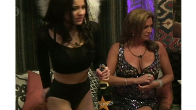 Glamour model Lacey Banghard strips off in CBB