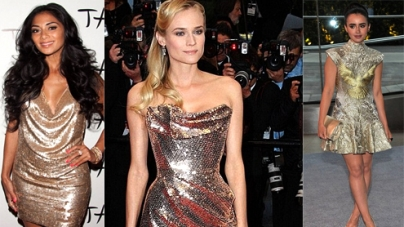 Hollywood Actresses Wear Most Shimmering Gowns Of 2012