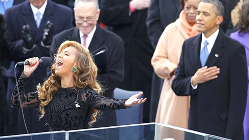Hollywood Stars Dazzle At President Obama's Second-Term Inauguration