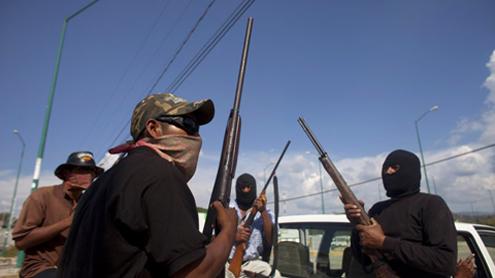 In Mexico, self-defense squads battle violence