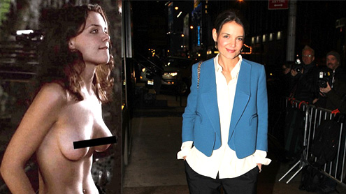 Katie Holmes named one of the sexiest women of the millennium by GQ