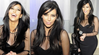 Kim Kardashian Sings Karaoke At A Private Party In Abidjan Ivory Coast