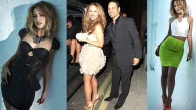 Kimberley Walsh Reveals Her Sexy Curves