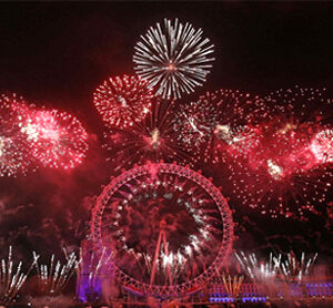 London Welcomes New Year 2013 With Fantastic Firework