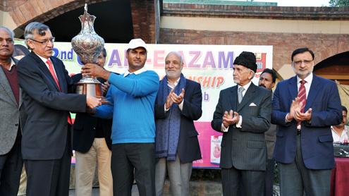 Matloob Ahmed wins Quaid  Open Golf Title