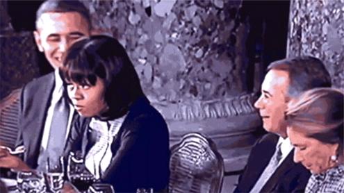 Michelle Obama rolls eyes at John Boehner, sets Internet aflame