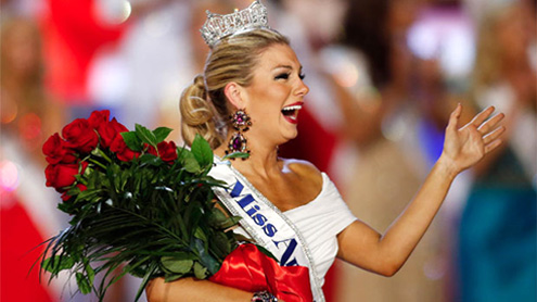 Miss America journeys from small town to big city