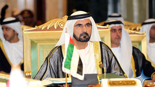 Mohammed to lead UAE delegation to summit in Riyadh