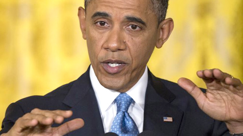 Obama Reviews Proposals to Curb Gun Violence