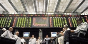 Pakistani stocks plunge over 300 points, rupee weakens