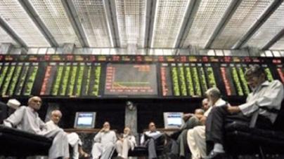 Pakistani stocks plunge over 300 points, rupee weakens