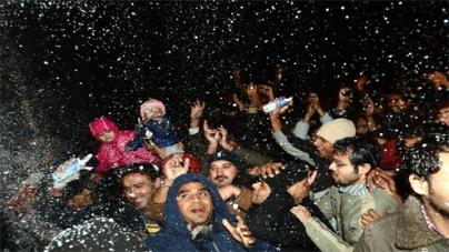 Peshawarites miss out on New Year celebrations