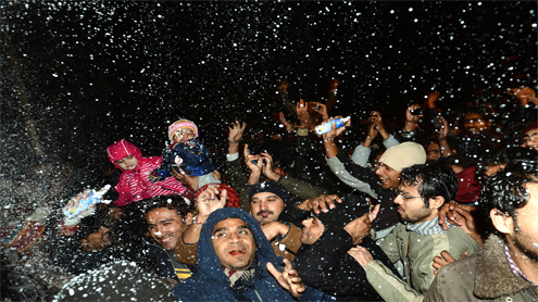 Peshawarites miss out on New Year celebrations