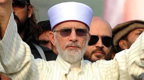 Qadri trying to end long march through backdoor channels