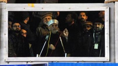 Qadri warns rulers to step down, dissolve assemblies till tomorrow