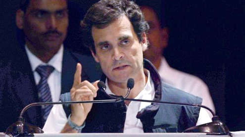 Rahul Gandhi condemns elitism