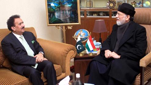 Rehman Malik warns of TTP threat to reforms rally
