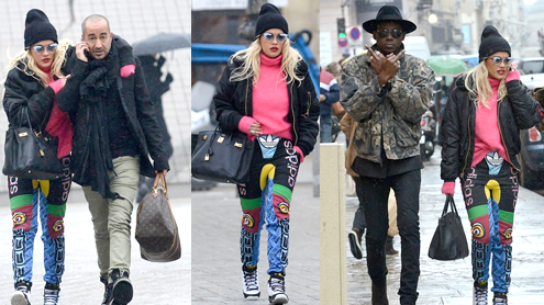 Rita Ora Tries To Be Fashionable In Paris