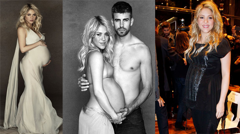 Shakira Announces Baby Milan Becoming Member Of FC Barcelona At Birth