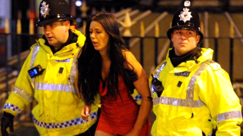 Shameful scenes of New Year celebration in cities of britain