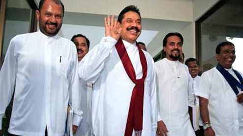 Sri Lanka president expands cabinet