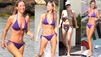 TV presenter Denise shows off trim physique after months of training
