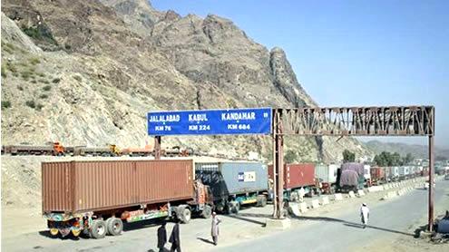 Torkham border closed over 'barrier row'