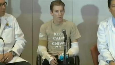 Transplant Recipient Says New Arms 'Amazing'
