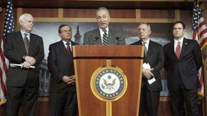 US Senators Unveil Immigration Reform Plan