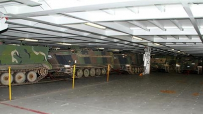 US gives unstable Lebanon 200 armoured vehicles