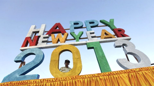 World welcomes New Year with a bang