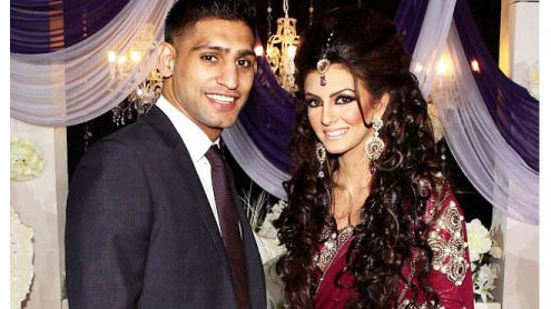 Amir Khan visits Lahore for marriage preps