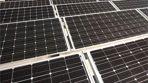 Biggest solar plant