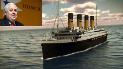 Billionaire Palmer launches plans for Titanic replica