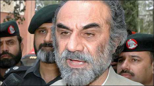 Sacked Raisani sends his resignation to JUI-F leader