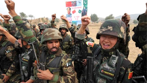 Chinese navy to join Pakistan exercise