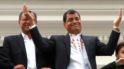 Ecuador's Correa breezes to 2nd re-election