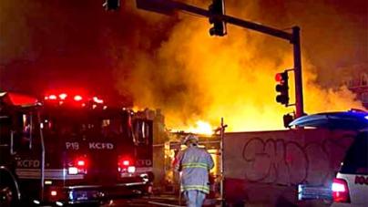 Kansas City blast cause unclear, 14 hurt