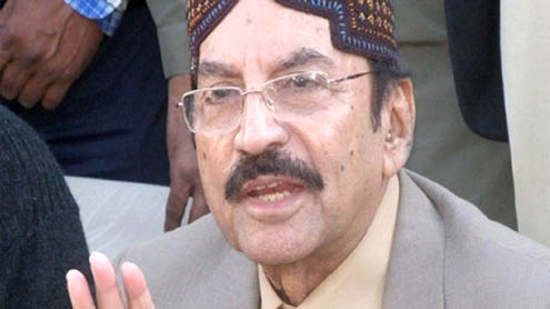 Karachi law and order under control: Qaim Ali Shah