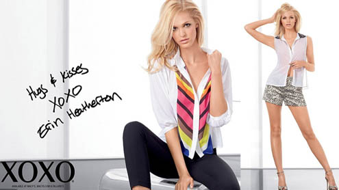 Leonardo DiCaprio's Blonde Ex Erin Heatherton Poses In New Fashion Campaign