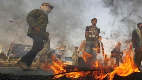 Loud demands in Senate for Karachi peace restoration
