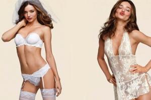 Miranda Kerr models in new campaign for the Victoria